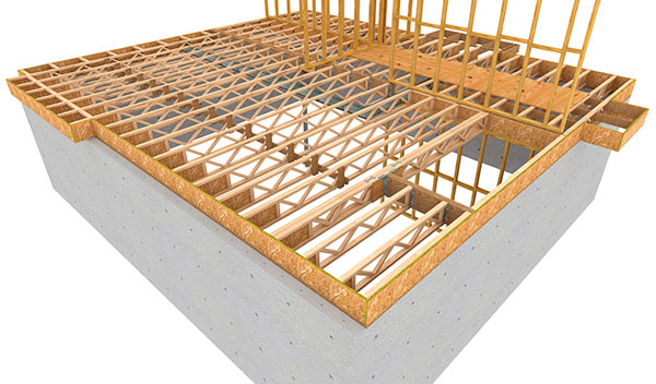 An Open Joist From Modern Manufacturing