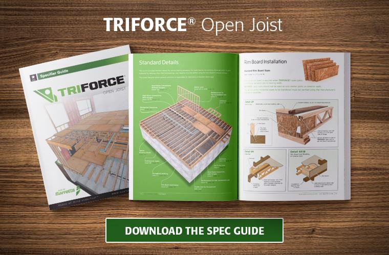 The engineered open joist spec guide