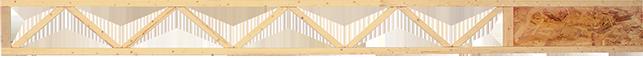 engineered wood floor joist: Triforce