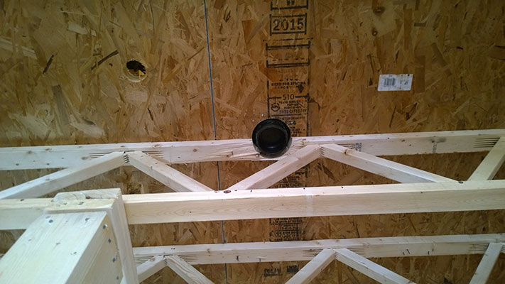 how to avoid notching floor joists - triforce