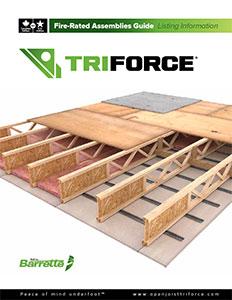 Triforce Fire-Resistant Assemblies Guide Listing Information