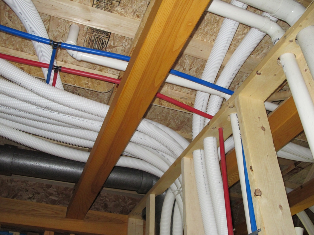 Green home balanced air system ducting