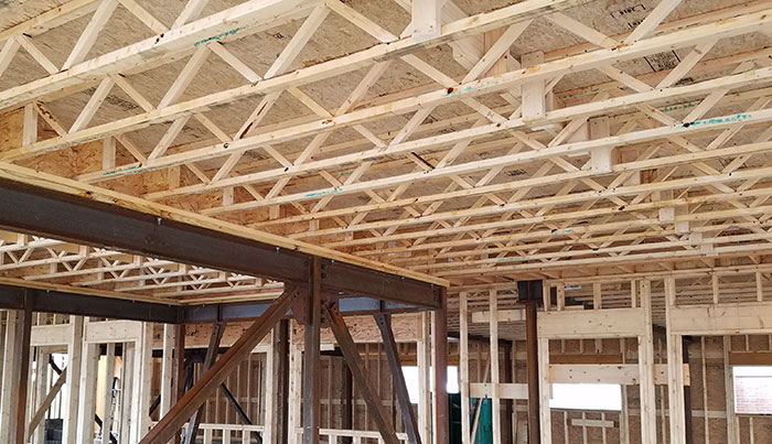 Using open web joists opens up new possibilities part 2 for Open web floor truss