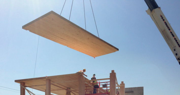 Engineered wood products CLT panels