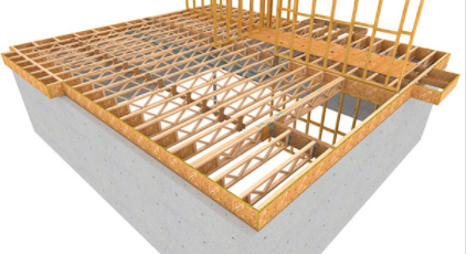 thanks to its connections to the floor membrane sill plate and joists it transfers vertical and lateral loads this way it helps the floor system act as