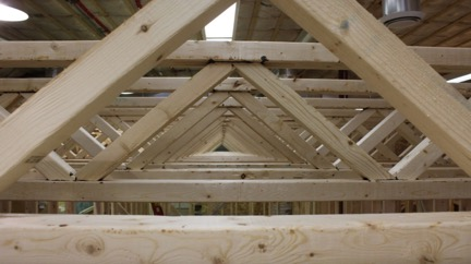 Should i use a floor truss or open joist triforce in my for Web floor truss