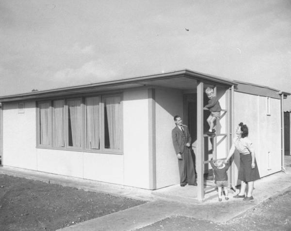 Old modular housing TRIFORCE