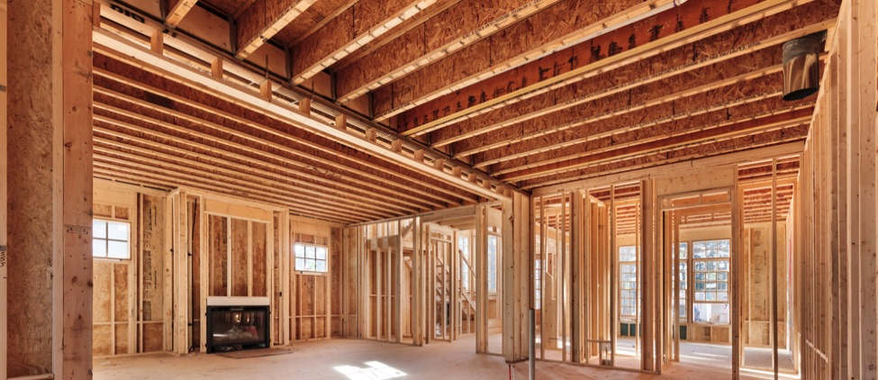 wood-i joist floor system