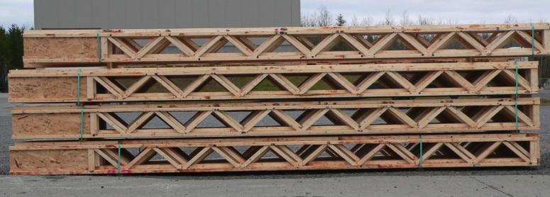 A set of Triforce joists