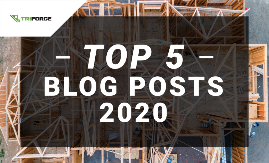 Discover our 5 most popular blog post about 2020 construction news and trends